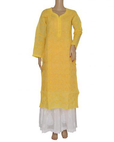 Front Image of Chikankari Kurti