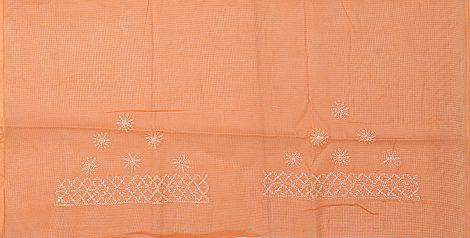 Image of Chikankari saree blouse